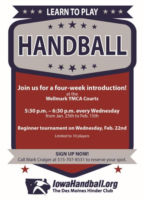 Learn to play handball Jan2017